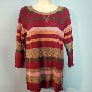 Sonoma knitted striped sweater